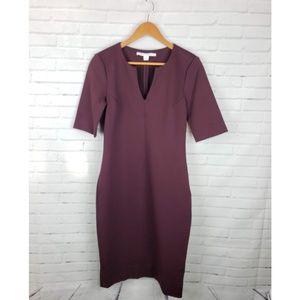 DVF Aurora Wool Bodycon Dress